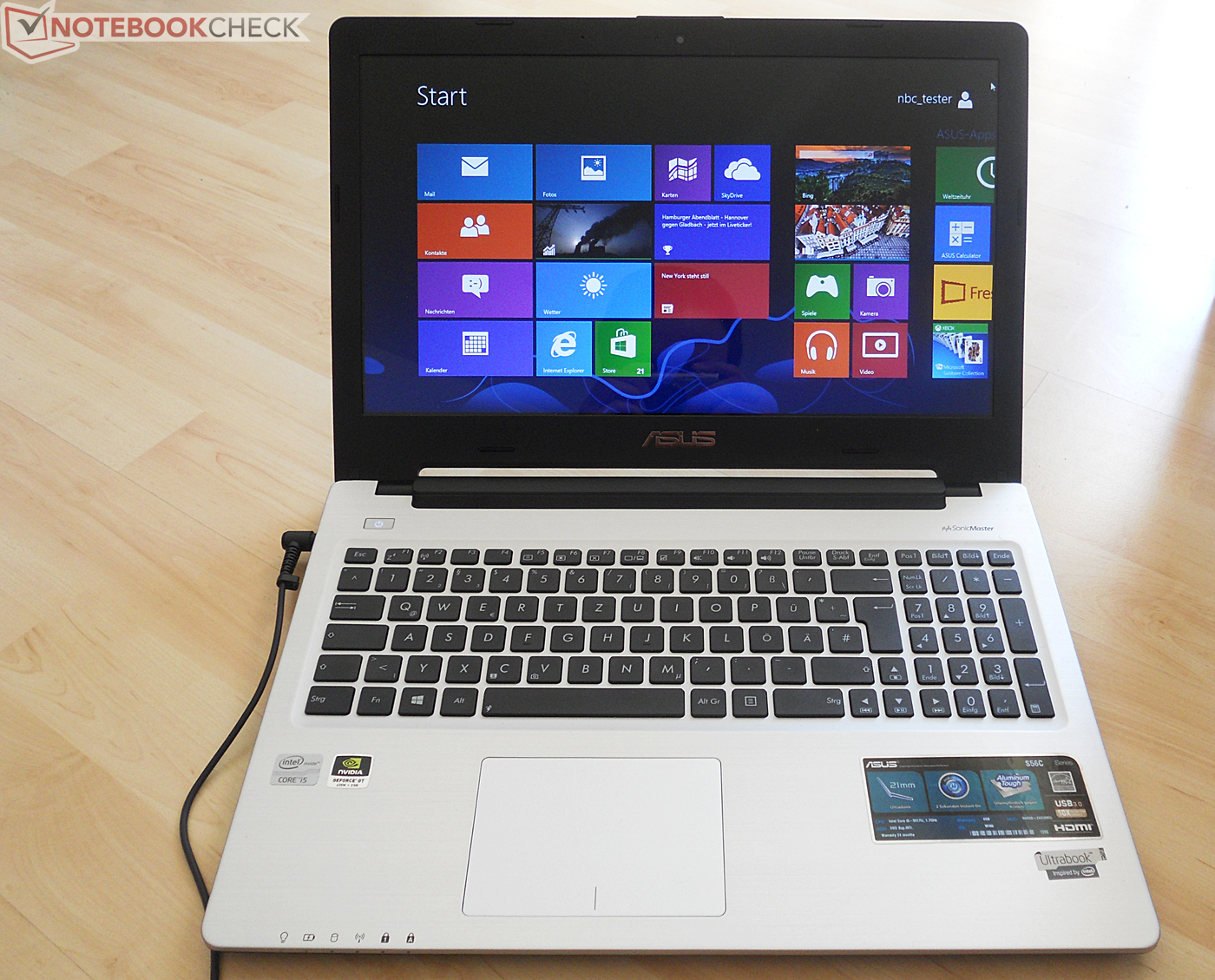 Asus S56cm Xx079h Notebookcheck It